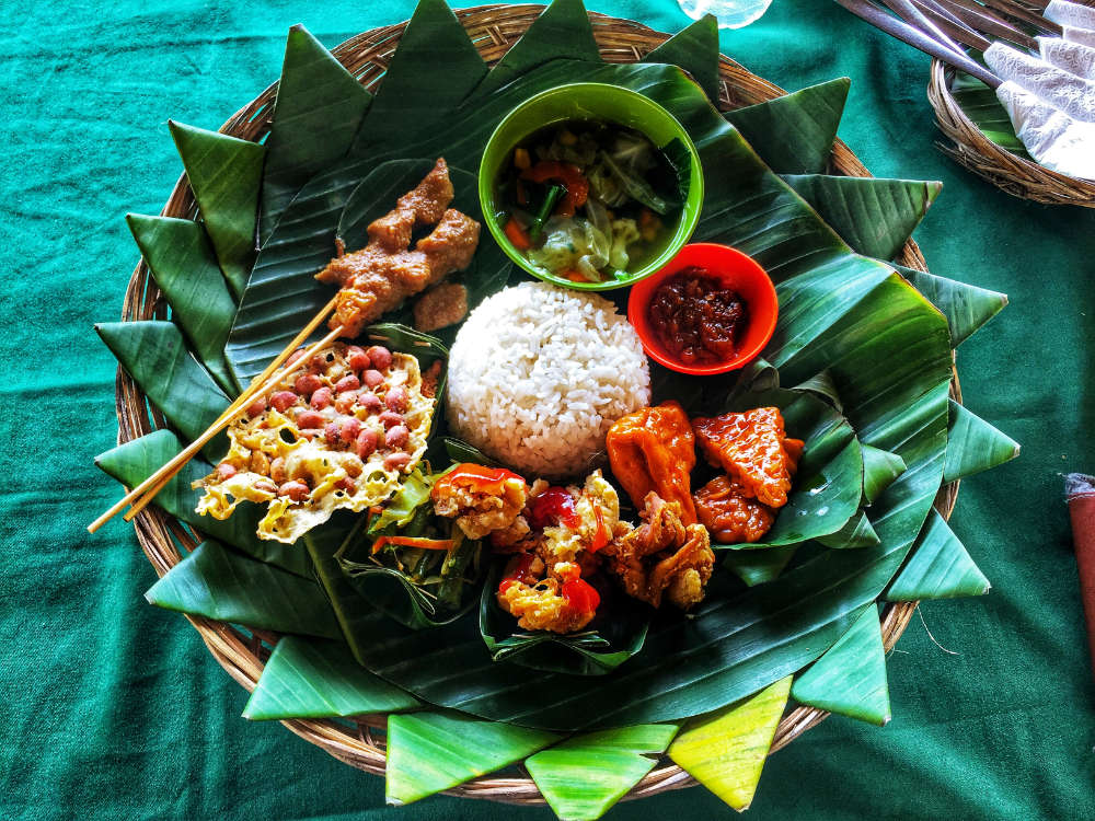 Delicious Indonesian dish cuisine